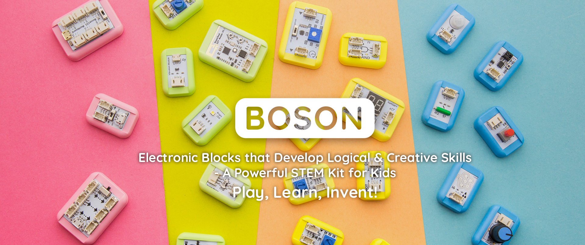 Boson Stem Educational Kit For Kids Coding Free Buy Electronics And Arduino Get It Shipped To Your Doorstep Dfrobot Is A Set Of Modularized Electronic Building Blocks
